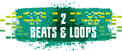 Beats and Loops sub heading graphic