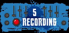 Recordings sub heading graphic